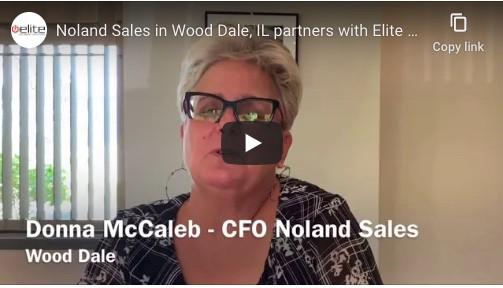 Noland Sales in Wood Dale, IL partners with Elite on office equipment. 1